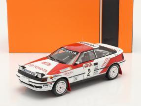 Toyota Celica GT-4 (ST165) #2 3rd Rallye San Remo 1990 Sainz, Moya