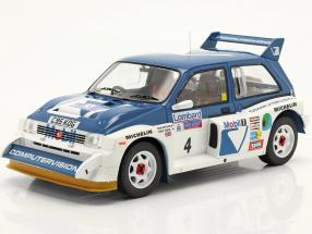 MG Metro 6R4 #4 6th Lombard RAC Rallye 1986 Pond, Arthur 1:18 Ixo