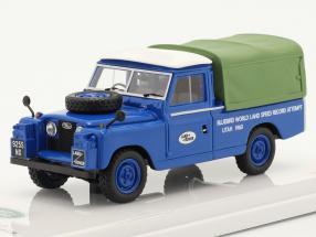 Land Rover Series II Bluebird Support Vehicle Bonneville 1960 1:43 TrueScale