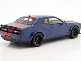 Dodge Challenger SRT Coupe Super Stock 2021 indigo blue / red