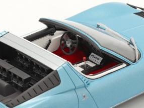 Lamborghini Miura P400S Roadster year 1968 blue