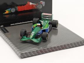 Michael Schumacher Jordan 191 #32 1st GP Race Belgium GP formula 1 1991 1:43 Ixo