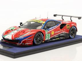 Ferrari 488 GTE Evo #51 24h LeMans 2020 Calado, Guidi, Serra 1:18 LookSmart