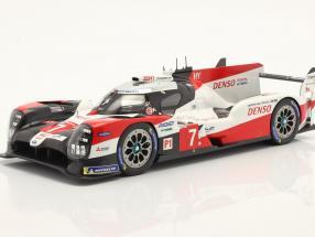 Toyota TS050 Hybrid #7 3rd 24h LeMans 2020 Conway, Kobayashi, Lopez 1:18 Spark