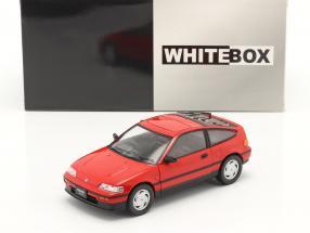 Honda CR-X RHD red 1:24 WhiteBox