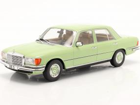 Mercedes-Benz 280 S (W116) year 1972 light green 1:18 Model Car Group