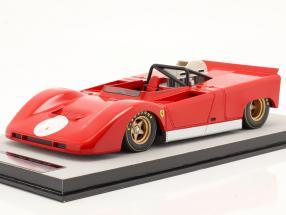Ferrari 712 Can-Am Press version 1971 red 1:18 Tecnomodel