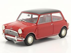 Austin Mini Cooper MKI year 1961-1963 red / black 1:18 Cult Scale