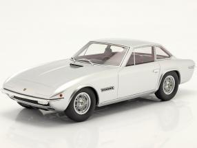 Lamborghini Islero year 1968 silver metallic 1:18 Cult Scale
