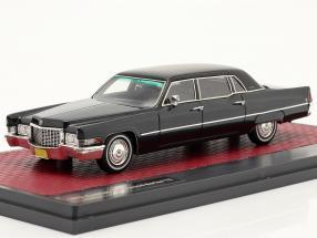 Cadillac Fleetwood Series 75 limousine year 1970 dark blue 1:43 Matrix