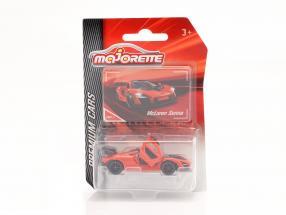 McLaren Senna year 2018 orange 1:64 Majorette