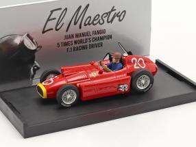 J.M. Fangio / P. Collins Ferrari D50 #20 2nd Monaco GP formula 1 1956 1:43 Brumm
