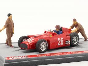 J.M. Fangio / P. Collins Ferrari D50 #26 2nd Italian GP formula 1 1956 1:43 Brumm