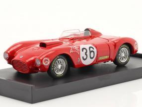 Lancia D24 #36 Winner Carrera Panamericana 1953 Fangio, Bronzoni 1:43 Hum