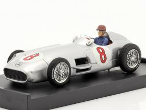 J. M. Fangio Mercedes-Benz W196 #8 Dutch GP F1 World Champion 1955 1:43 Brumm