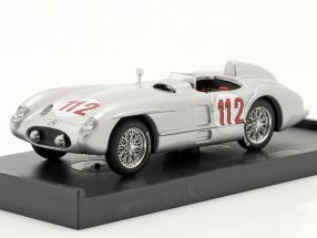 Mercedes-Benz 300 SLR #112 2nd Targa Florio 1955 Fangio, Kling 1:43 Hum