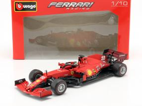 Carlos Sainz jr. Ferrari SF21 #55 formula 1 2021 1:18 Bburago