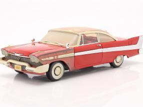 Plymouth Fury year 1958 Movie Christine (1983) red /white 1:18 AutoWorld