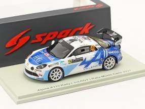 Alpine A110 Rally RGT #42 3rd R-GT Rallye Monte Carlo 2021 1:43 Spark