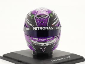 Lewis Hamilton #44 Mercedes-AMG Petronas formula 1 2021 helmet 1:5 Spark