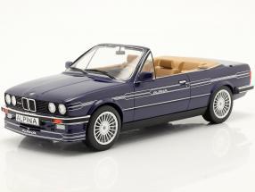 BMW Alpina C2 2.7 Convertible year 1986 blue metallic 1:18 Model Car Group