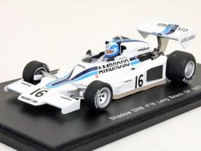 Renzo Zorzi Shadow DN8 #16 Formel 1 1977 GP Long Beach 1:43 Spark