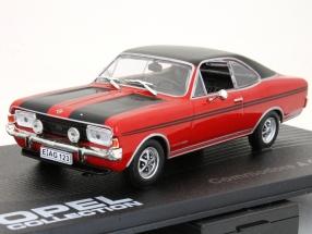 Opel Commodore A Coupe GS/E Bj. 1970-1971 rot / schwarz 1:43 Ixo Altaya