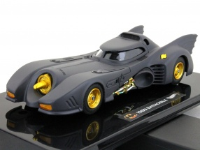 Moviecar Batman Batmobile 1989 1:43 HotWheels matt black