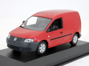 Volkswagen Caddy rot 1:43 Minichamps
