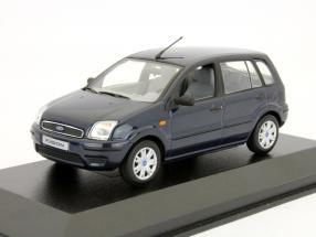 Ford Fusion model 2002 dark blue 1:43 Minichamps