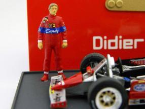 Pironi Ferrari GP Monaco F1 1981 mit Figur 1:43 Brumm