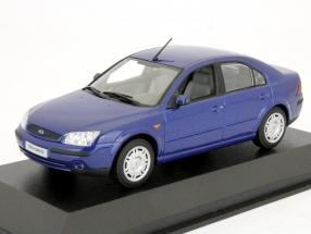 Ford Mondeo Limousine Year 2002 blue 1:43 Minichamps