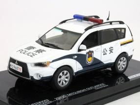 Mitsubishi Outlander China Police 1:43 Vitesse