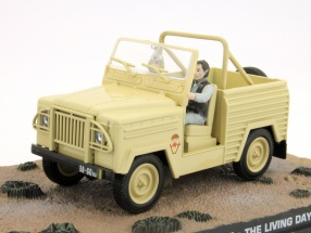 Land Rover Lightweight Car James Bond movie The Living Daylights beige 1:43 Ixo