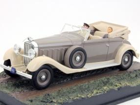 Hispano-Suiza James Bond movie Moonraker Car - Top Secret gray 1:43 Ixo