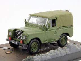 Land Rover Series III Car James Bond movie The Living Daylights brown 1:43 Ixo