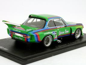 BMW CSL #7 Winner 1000km Nurburgring 1976 Quester, Cancer 1:43 Spark