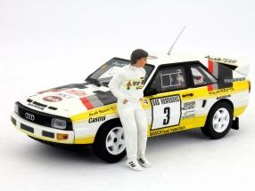 Christian Geistdörfer Audi driver figure 1:43 FigurenManufaktur