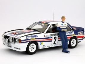 Walter Röhrl driver figure Opel Rothmans 1:18 FigurenManufaktur