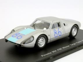 Porsche 904 #86 Targa Florio 1964 Winner Davis, Pucci 1:43 Spark