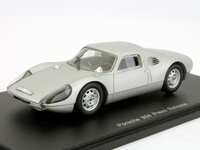 Porsche 904 Press Release silver 1:43 Spark