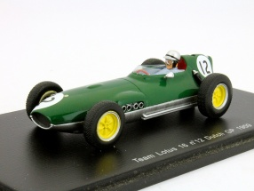 I. Ireland Team Lotus 16 #12 Dutch GP Formel 1 1959 1:43 Spark