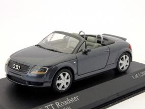 Audi TT Roadster year 1999 dolomite gray pearl 1:43 Minichamps