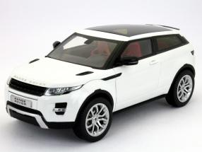 Land Rover Range Rover Evoque Coupe year 2011 white 1:18 Welly GTA