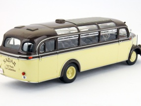 Mecedes Benz O 3500 bus Sedar built in 1950 1:43 Minichamps