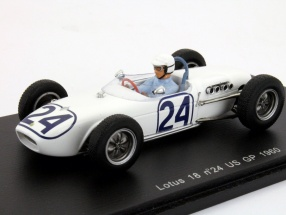 Jim Hall #24 Lotus 18 USA GP Formula 1 1960 1:43 Spark