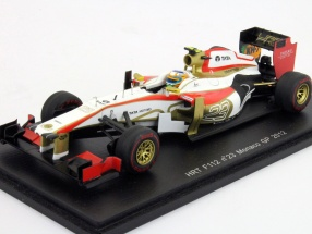 N. Karthikeyan HRT F112 #23 Monaco GP Formula 1 2012 1:43 Spark