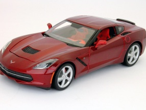 Chevrolet Corvette C7 Stingray Year 2014 red 1:18 Maisto