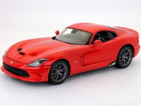 Dodge SRT Viper GTS Year 2013 red 1:18 Maisto