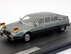 Citroen CX Limousine Nilsson 1985 1:43 Erich Honecker gray matrix